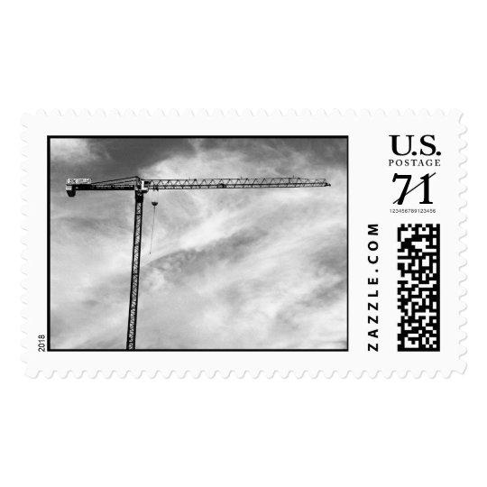 Construction Crane – Large stamp