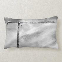 Construction Crane Lumbar Pillow
