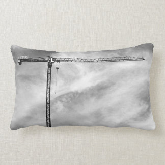 Construction Crane Lumbar Pillow