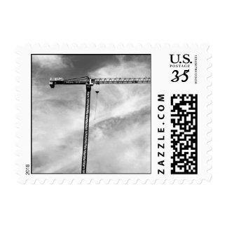 Construction Crane – Small stamp