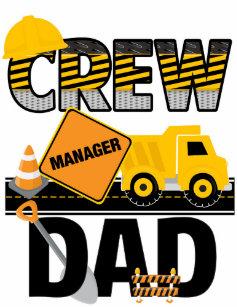 Construction Dad Shirt Birthday Dump Truck T