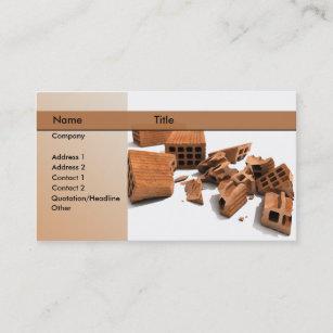 Demolition business cards zazzle construction demolition business card colourmoves