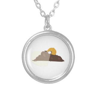 Construction Dirt Custom Necklace