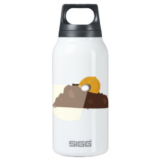 Construction Dirt 10 Oz Insulated SIGG Thermos Water Bottle