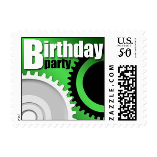 Construction & Engineering Birthday Party Postage