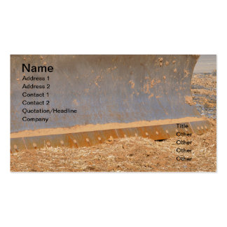 construction equipment Double-Sided standard business cards (Pack of 100)