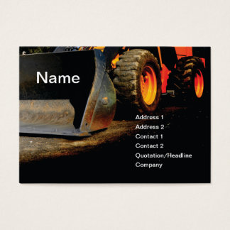 Heavy Equipment Business Cards & Templates | Zazzle