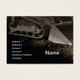 Construction business cards 4400 construction business card construction equipment business card reheart Gallery