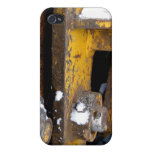 Construction equipment industrial machine photo cover for iPhone 4