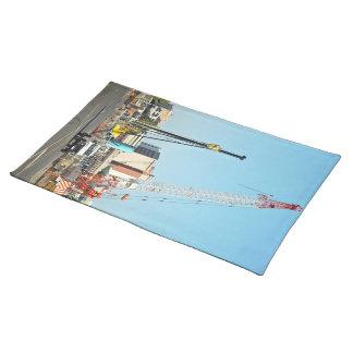 Construction equipments place mat