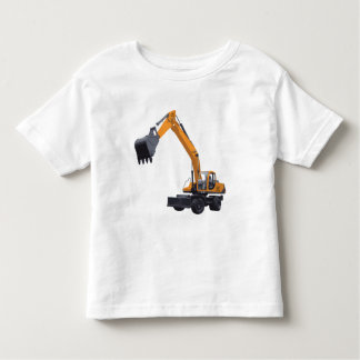 Construction Excavator Toddler T-shirt