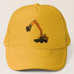 Construction Excavator Trucker Hat