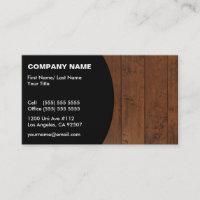 Construction/Flooring Business Card
