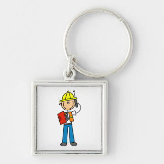 Construction Foreman T-shirts and Gifts Keychains