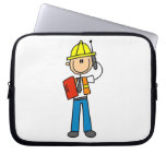 Construction Foreman T-shirts and Gifts Laptop Sleeves