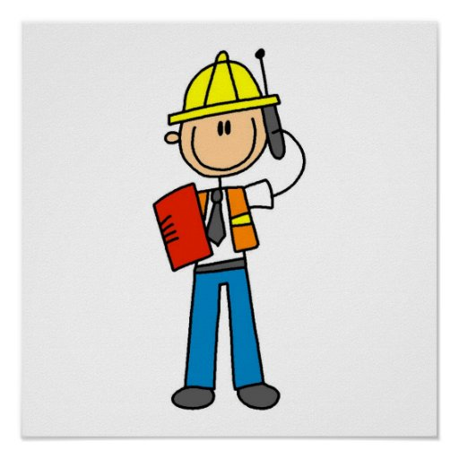 Construction Foreman T-shirts and Gifts Print
