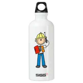 Construction Foreman T-shirts and SIGG Traveler 0.6L Water Bottle