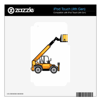 Construction Forklift Decals For iPod Touch 4G