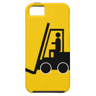 CONSTRUCTION FORKLIFT VEHICLE GRAPHIC LOGO iPhone 5 COVERS