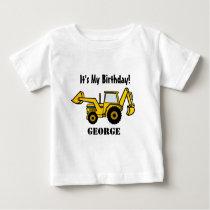 Construction Fun/ Backhoe Baby T-Shirt