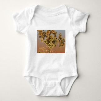 """Construction"" futuristic abstract art Baby Bodysuit"