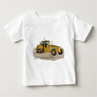 Construction grader Smooth Baby T-Shirt