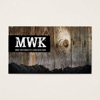 Construction Handyman Business Card