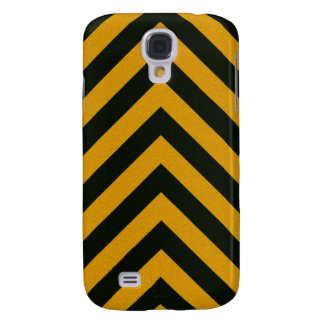 Construction Hazard Striped Texture Samsung Galaxy S4 Covers
