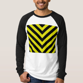 Construction Hazard Stripes Tee Shirt