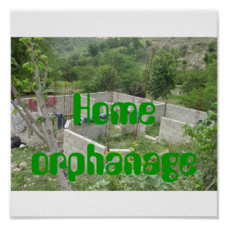 construction, Home orphanage Poster