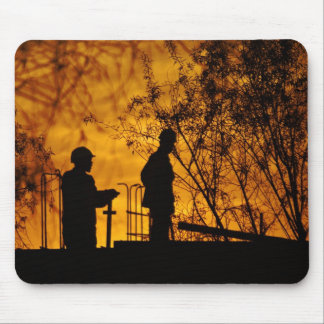 Construction II Mouse Pad
