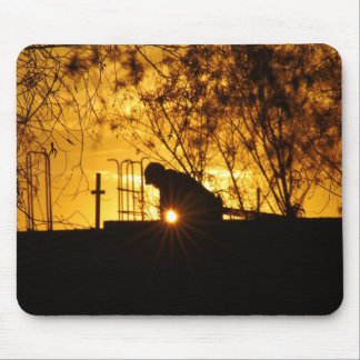 Construction III Mouse Pad