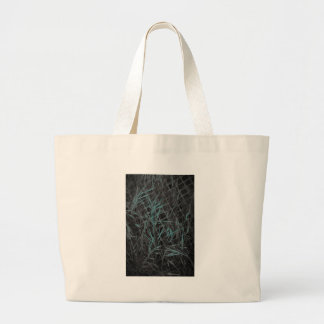 Construction in Blue Large Tote Bag