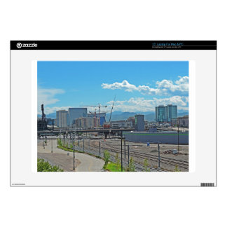 """Construction in Downtown Denver Colorado Decal For 15"""" Laptop"""