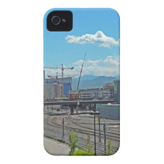 Construction in Downtown Denver Colorado iPhone 4 Cover