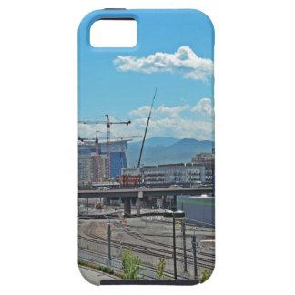 Construction in Downtown Denver Colorado iPhone SE/5/5s Case