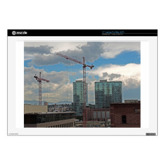 Construction in Downtown Denver Colorado Laptop Skins