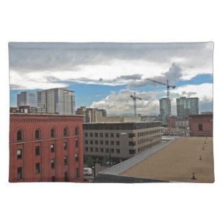 Construction in Downtown Denver Colorado Placemat