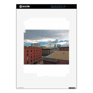 Construction in Downtown Denver Colorado Skin For iPad 2