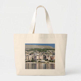 Construction In Sarande Town In Albania Tote Bag