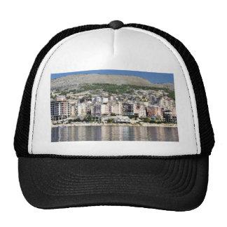 Construction In Sarande Town In Albania Trucker Hat