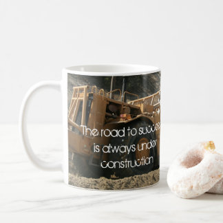 Construction Inspirational Quote Coffee Mug