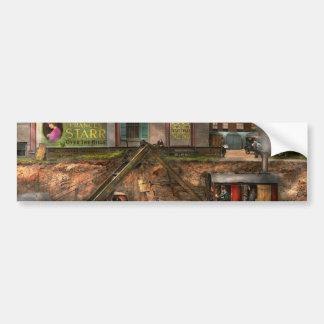 Construction - It pays to flirt 1916 Bumper Sticker