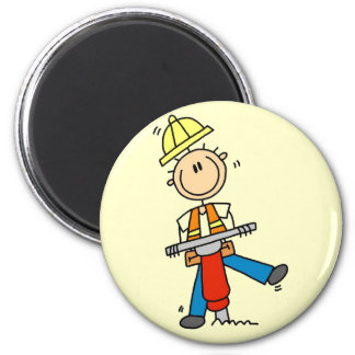 Construction Jack Hammer T-shirts and Gifts Magnet