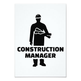 Construction manager card