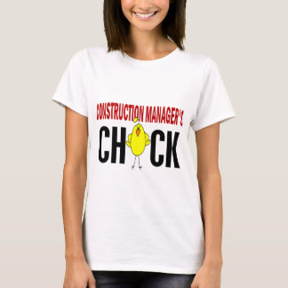 Construction Manager's  Chick T-Shirt