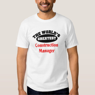 Construction Manager Shirt