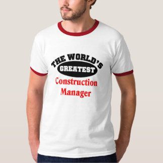 Construction Manager T Shirt