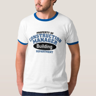 Construction Manager T-shirt