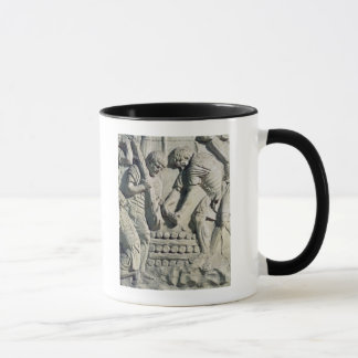 Construction of fortifications during campaign mug
